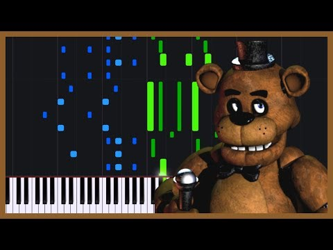 Five Nights at Freddy's Song [Piano Tutorial] (Synthesia) // PianXtreme