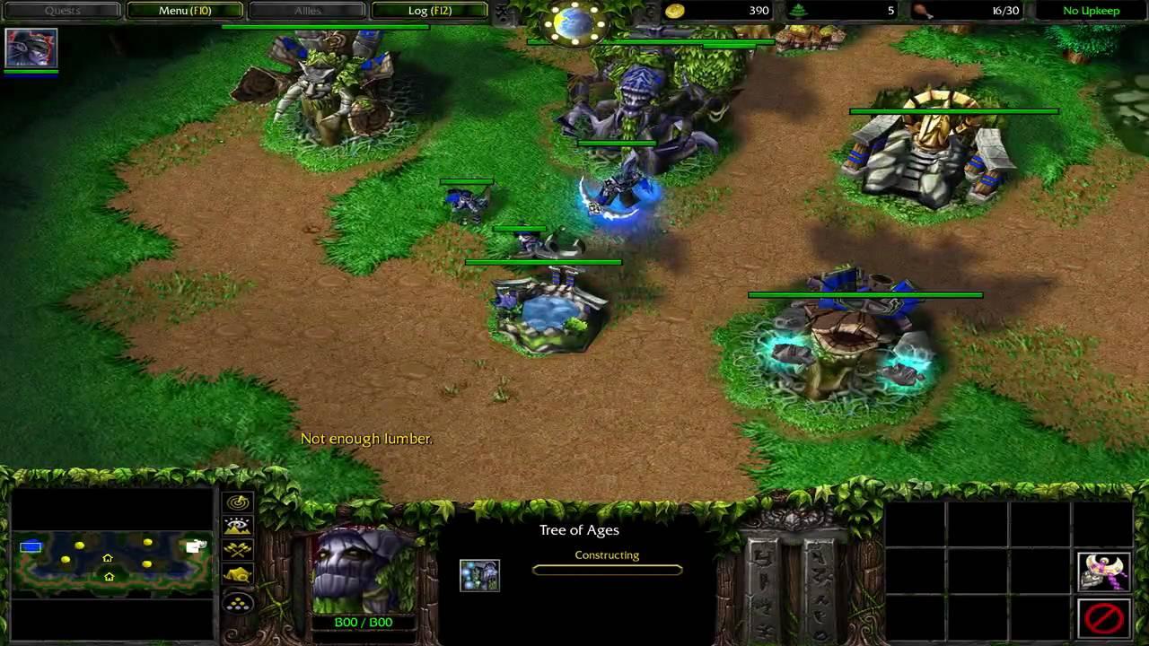 Build Order Warcraft