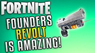 """Fortnite Save The World Founders Revolt Is Insane! """"Fortnite Best Weapons in Save The World"""""""