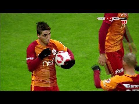 Galatasaray: 2 - Tuzlaspor: 1   Gol: Josue - atv