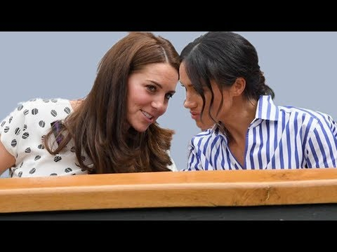 Body language expert: Meghan Markle and Kate Middleton are actually friends
