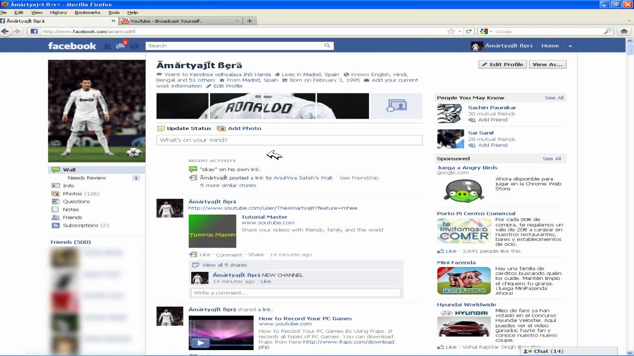 how to restore the facebook chat box youtube