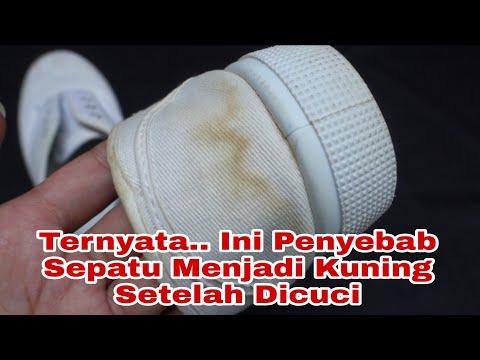 Sepatu Jadi Kuning Setelah Dicuci Cara Membersihkan Sepatu Putih