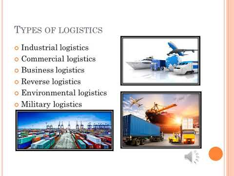 LOGISTICS FOR BEGINNERS - PAC 3 English for business