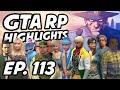 GTA RP Daily Highlights   Ep. 113   Pinnkky, anthonyz_, Five0AnthO, Xiceman126, Thadrius, KatieRouu