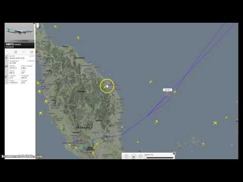 MH370 Flight with UFO