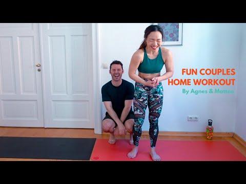 Fun Couples Workout (Beginner level)