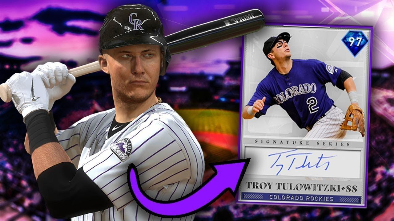 97 Troy Tulowitzki Ranked Seasons Debut Card Rakes Mlb The Show 19 Diamond Dynasty