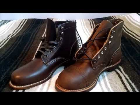 Wolverine 1000 Mile And Red Wing Iron Ranger 8115 Boots Review And Comparison