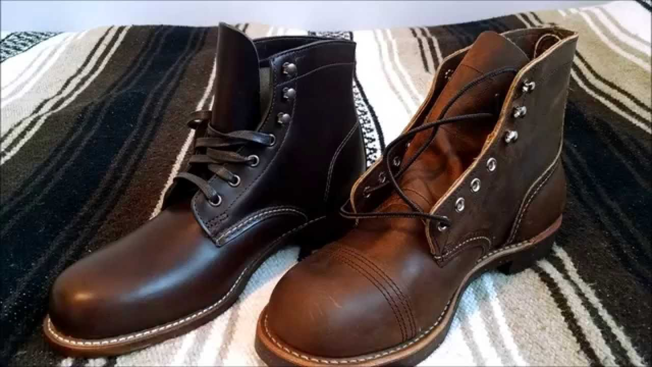 919a5638ae9 Wolverine 1000 Mile and Red Wing Iron Ranger 8115 Boots Review and  Comparison