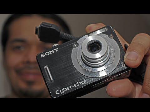 How to use Sony cybershot dsc w55 digital camera as webcam tutorial