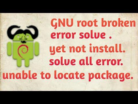 GNU root debian solve all error ???