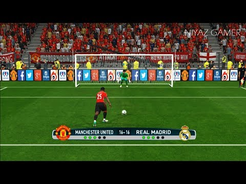 Manchester United vs Real Madrid | Penalty Shootout | PES 2017 Gameplay