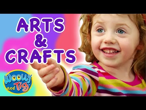 Woolly and Tig - Arts and Crafts | Kids TV Show | Toy Spider