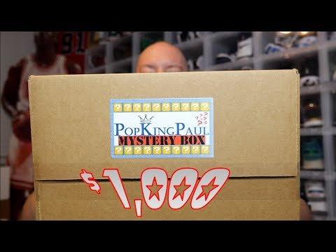 EPIC $1000 PopKingPaul Funko POP Mystery Box Unboxing + MULTIPLE GRAILS & CRAZY PULLS MUST SEE
