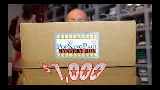 EPIC $1,000 PopKingPaul Funko POP Mystery Box Unboxing + MULTIPLE GRAILS & CRAZY PULLS MUST SEE!