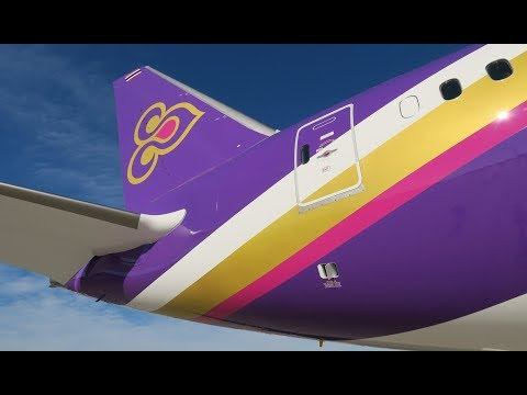 [Flight Report] THAI | Paine Field Everett ✈ Bangkok | Boeing 787-9 | Business