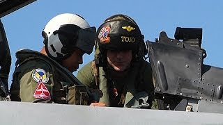 News Strike - Philippine Pilots Take a Ride on Marine Corps Fighter Jets