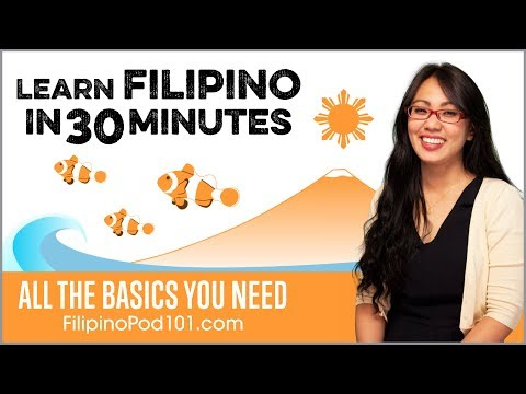 Learn Filipino in 30 Minutes – ALL the Basics You Need
