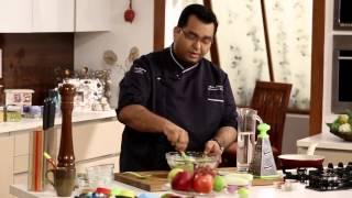 Hi Tea | Cucumber & Spinach Pancakes With Greek Salad Recipe | Chef Ajay Chopra