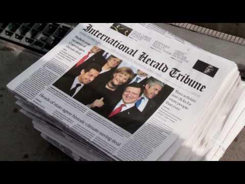 Newspaper Spoof - Greenpeace
