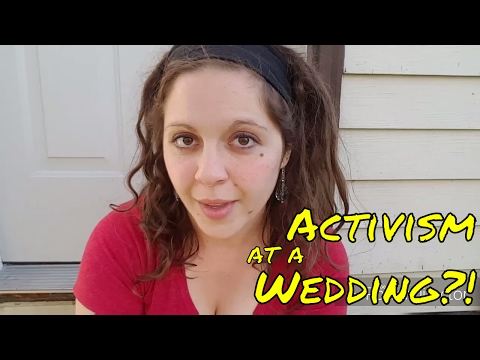 Vegan Activism at a Wedding || Story Time