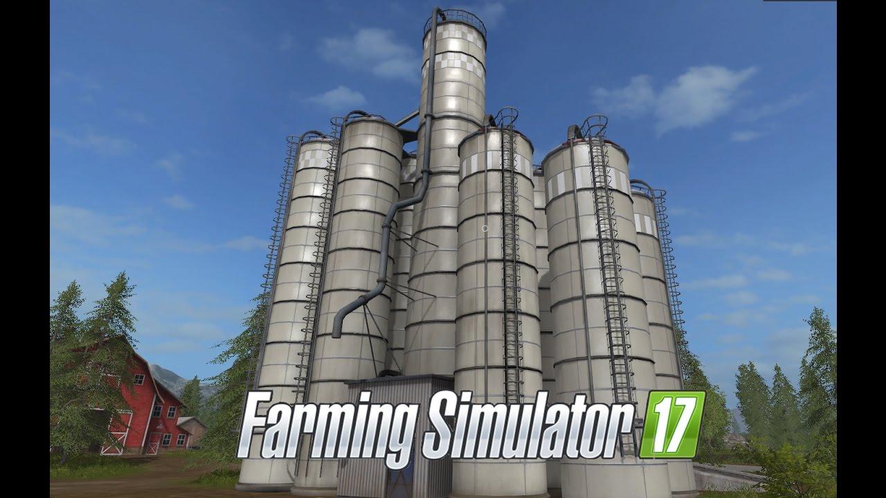 farming simulator 17 e24 silos gameplay letu0027s play - Silos
