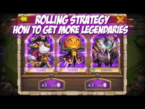 Castle Clash: Rolling Strategy (Get More Legends)