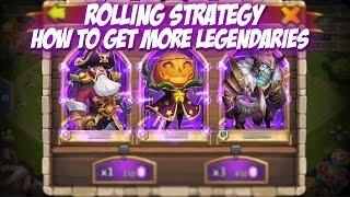 Castle Clash: Rolling Strategy (Get more Legends)