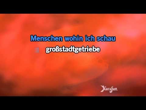 Karaoke Siebzehn Jahr, blondes Haar - Udo Jürgens *
