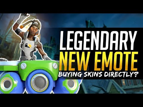 Overwatch MOST EXPENSIVE LEGENDARY - $30 for new Lucio Emote