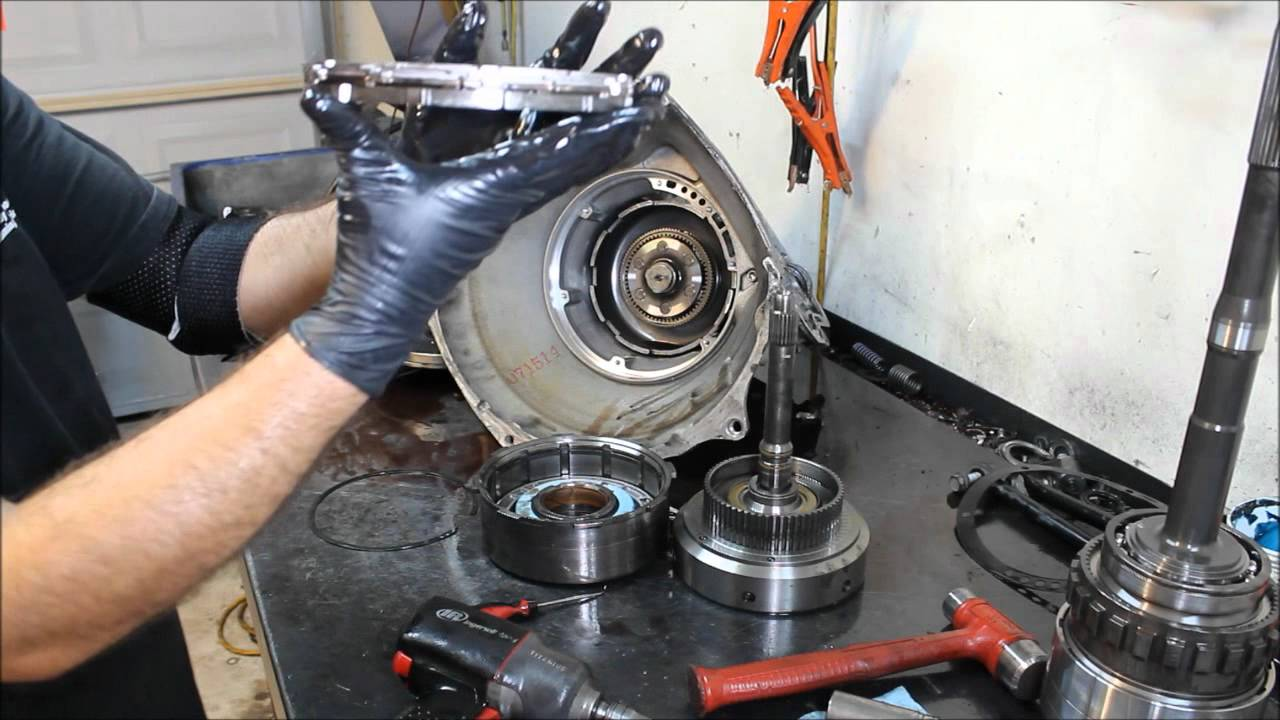 How To Rebuild Automatic Transmission >> 48RE Transmission Teardown Inspection, 2006 Dodge Ram SRT10 - Transmission Repair - YouTube
