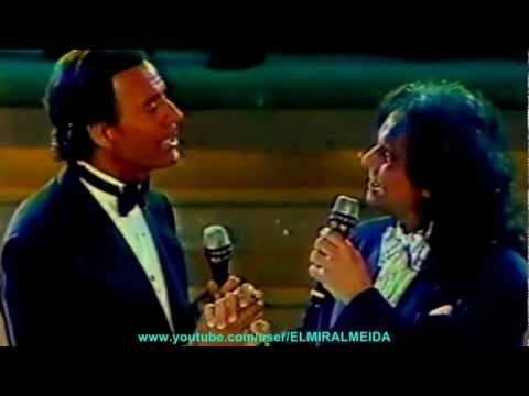 ROBERTO CARLOS & JULIO IGLESIAS - SOLAMENTE UNA VEZ 1989 (Mexico Canal Del Las Estrellas)-HD