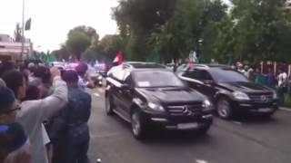 Путин в гостях у Кадырова! Самый крутой кортеж в России