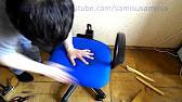 Обзор офисного стула Chairman 659 TERRA - YouTube
