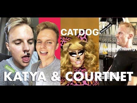 Courtney Act Cooking Show -  KATYA Zamo Gym Buddy --  Trixie Mattel