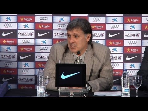Martino unveiled as Barcelona's new manager