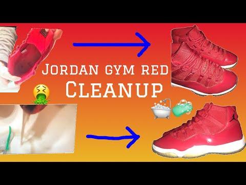 Jordan 11 Gym Red Restoration/Cleanup ($50 on offerup)