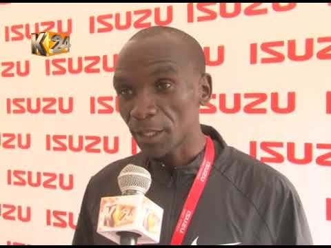 Kipchoge aiming to break world record in Berlin