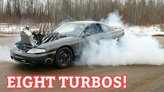 Finally Testing The Eight Turbo Mustang And This Happens!
