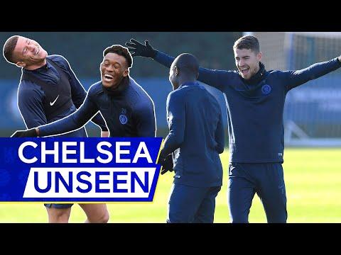 🎥 Who's fastest? Callum Hudson-Odoi v Willian in head-to-head race 👀 | Chelsea Unseen