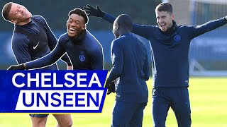 Who's Fastest? Callum Hudson-Odoi v Willian in Head-to-Head Race 👀 | Chelsea Unseen