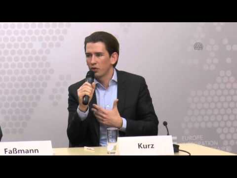 Austrian Minister for Europe, Integration and Foreign Affairs Kurz