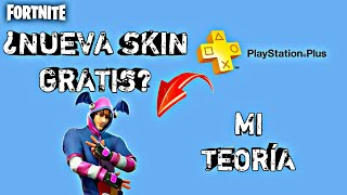 NEW FREE PS PLUS SKIN FOR FORTNITE / FILTRATION / MY THEORY