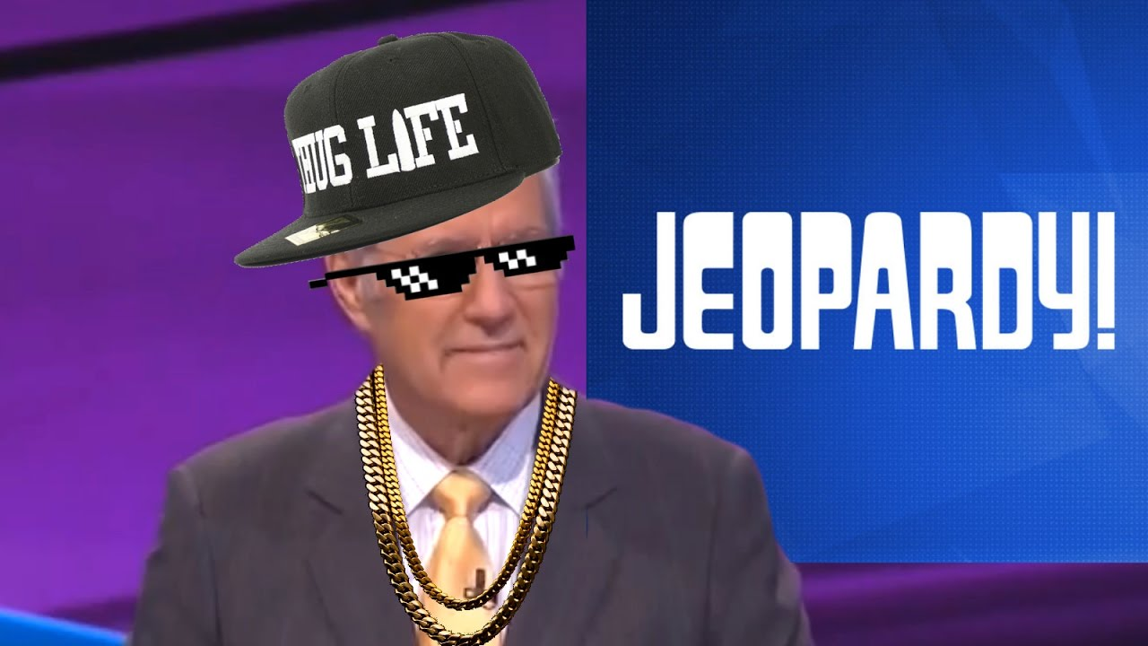 Alex Trebek rapping on Jeopardy - With Music [@Tole_Cover]