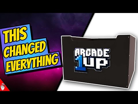 Arcade1Up - The Riser Changed Everything from Console Kits