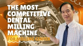 Dental Milling Machine for a Milling Center or a Big Size Dental Lab