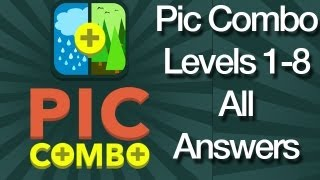 Pic Combo Answers Levels1-8