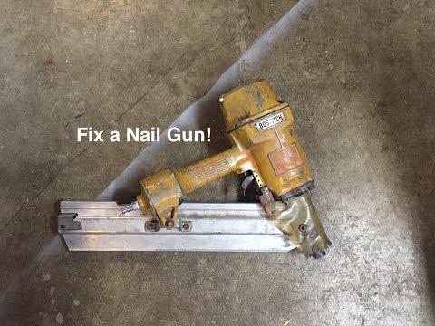 How to Fix a Nail Gun!