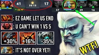 1v5 and They Think its Over But, Pro PL vs All Counter Juke and Kill GOD Epic Comeback 7.22 Dota 2